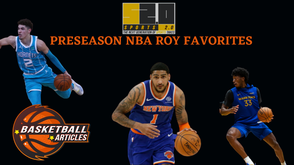 nba rookie of the year favorites