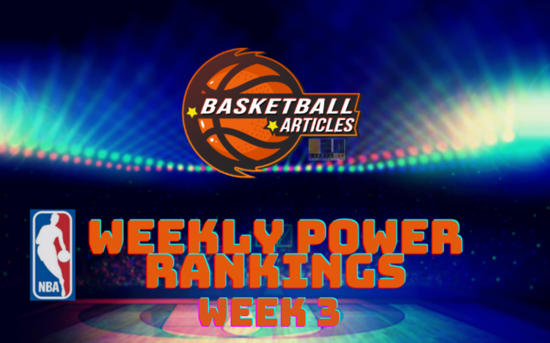 NBA Power Rankings: Cream Rising To The Top After Week 3