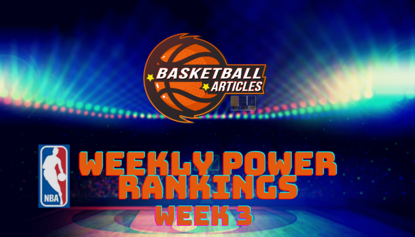 nba power rankings week 3