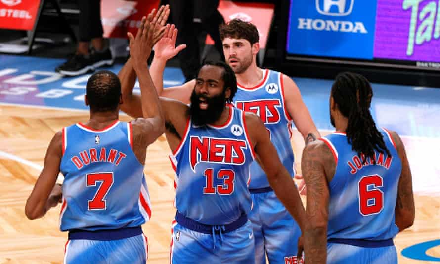 Nets with James Harden