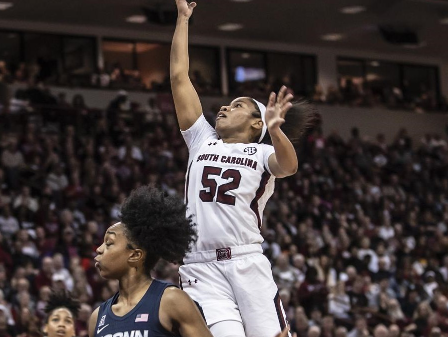 NCAA Women's Basketball: #2 South Carolina vs #3 UConn
