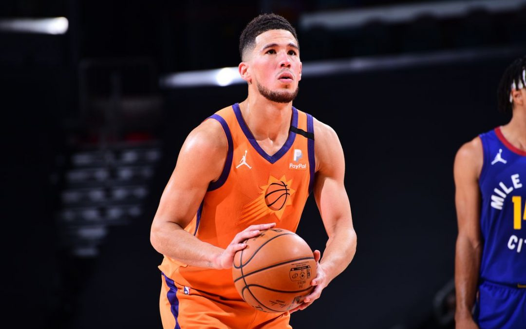 All-Star Game Snub Devin Booker Replaces Injured Anthony Davis