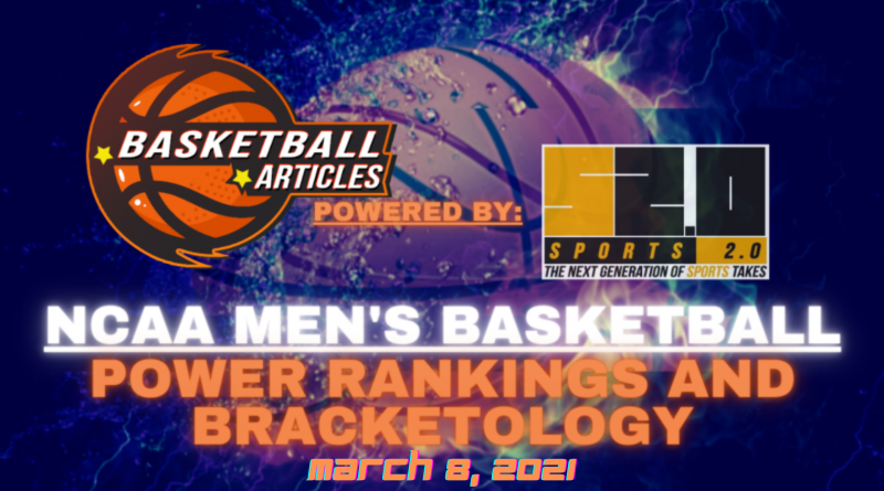 basketball power rankings and bracketology