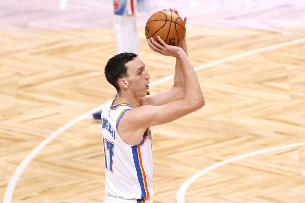 Oklahoma City Thunder Started Two Rookies on Saturday