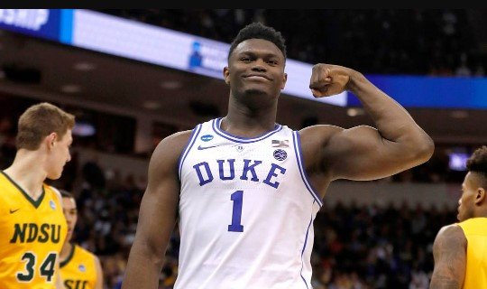Coach K Replacmeent at Duke, a photo of Zion Williamson