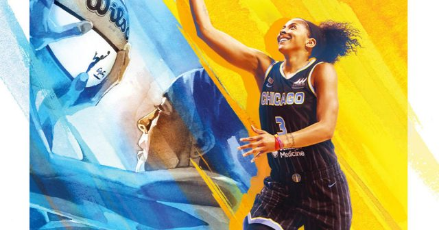 Candace Parker First Woman Ever on the Cover of NBA 2K