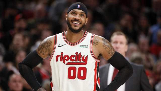 Carmelo Anthony Looking to Cap Off His NBA Career With a Ring