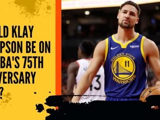 Should Klay Thompson be on the NBA's 75th Anniversary Team?