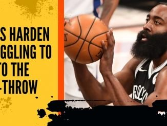 James Harden Struggling to Get to the Free-Throw Line